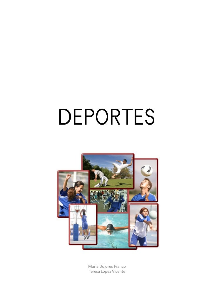 DEPORTES  María Dolores Franco  Teresa López Vicente