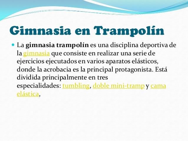 Deportes for Gimnasia concepto
