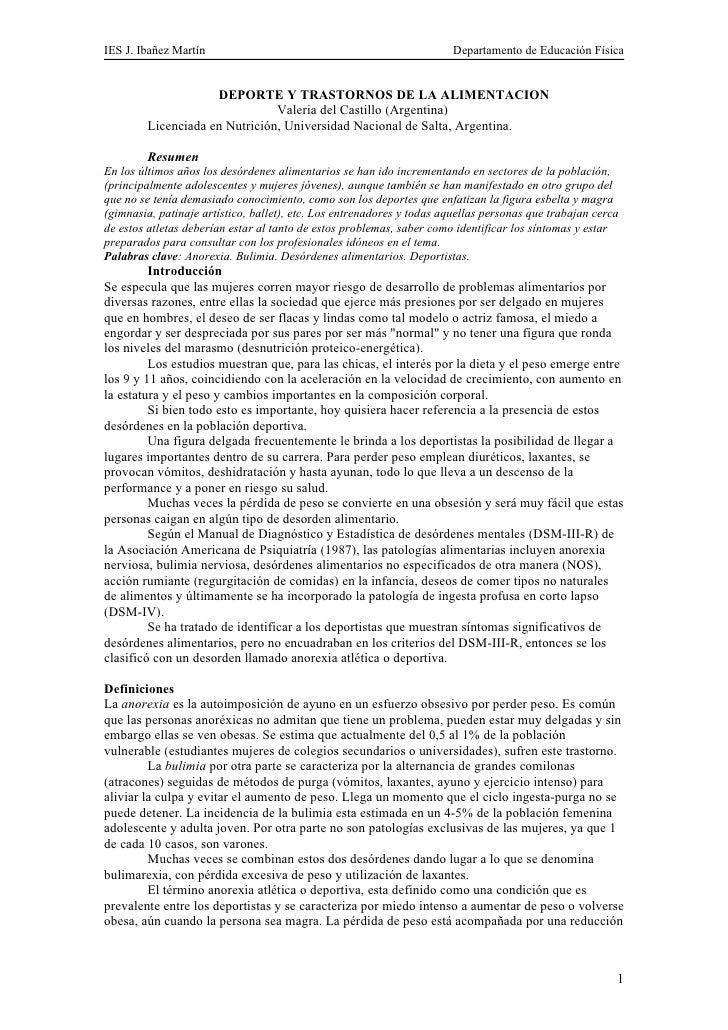 IES J. Ibañez Martín                                                   Departamento de Educación Física                   ...