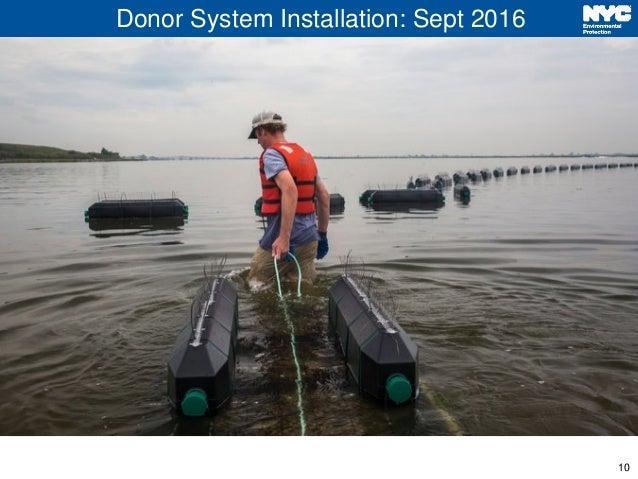 10 Donor System Installation: Sept 2016