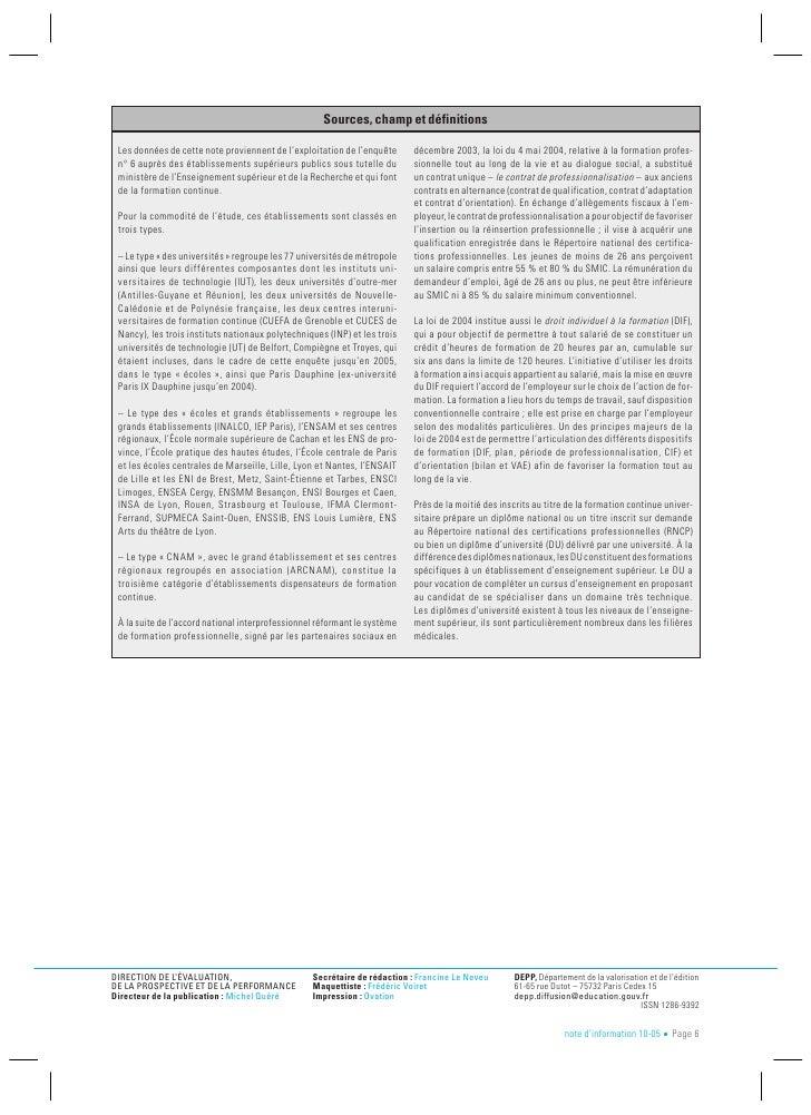 Depp formation continue universitaire - Grille salaire contrat de professionnalisation ...