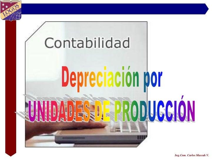 Ing.Com. Carlos Massuh V.