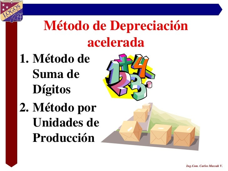 Tipos de depreciacion acelerada