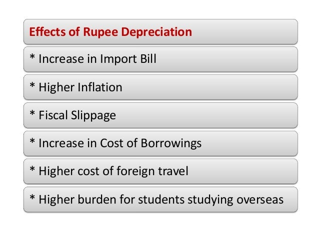 What does the falling rupee mean for you and economy?