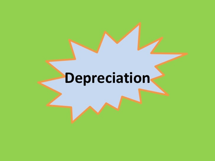 Depreciation<br />