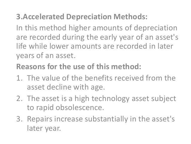 accelerated depreciation formula