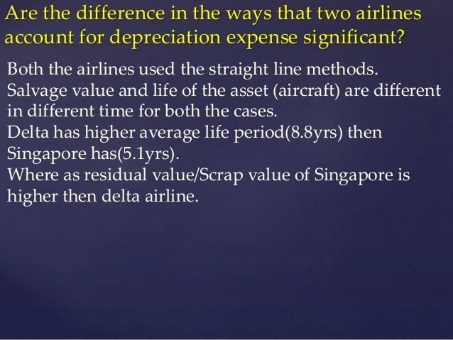 depreciation at delta air Depreciation at delta air lines: the 'fresh start' case solution,depreciation at delta air lines: the 'fresh start' case analysis, depreciation at delta air lines: the 'fresh start' case.