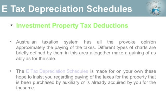 Depreciation schedule template