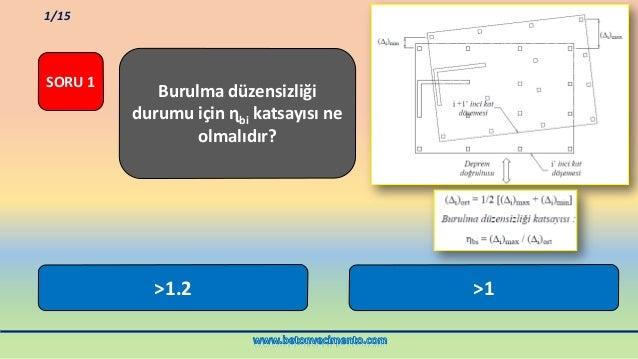 Deprem yönetmeliği test Slide 2