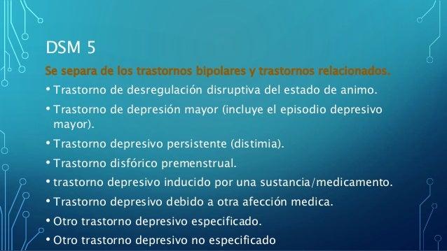 Depresión DSM 5 Slide 3
