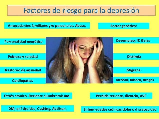 Factores de Riesgo para la Depresión