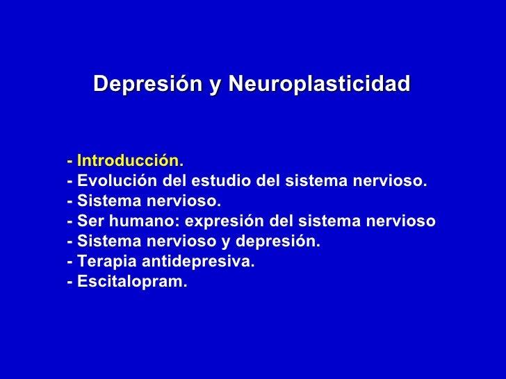 Depresión y neuroplasticidad Slide 2