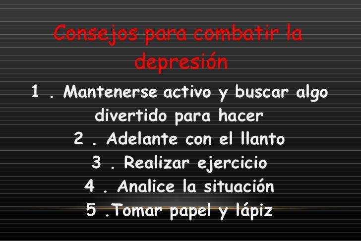 Depresion adolescente - Consejos para superar la depresion ...