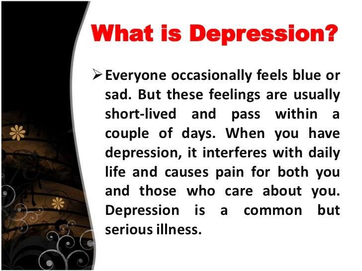 Wonderful DEFINITIONu2022 Depression ...