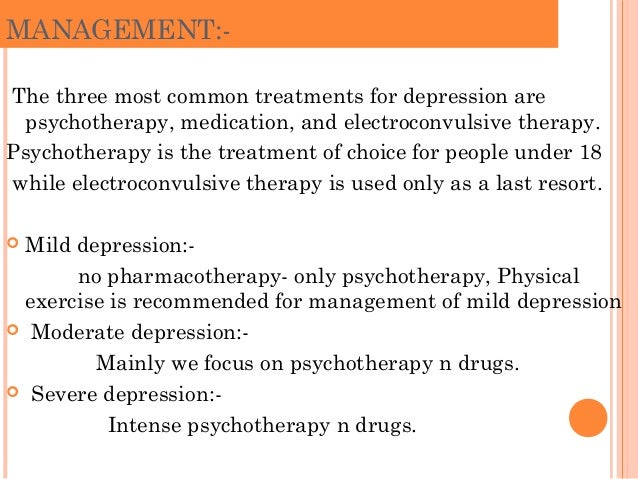 cbt is the treatment of choice in the nhs for moderate to severe depression Moderate and severe depression psychological treatment (cbt) treatment choice should for acute treatment of severe depression that is life.