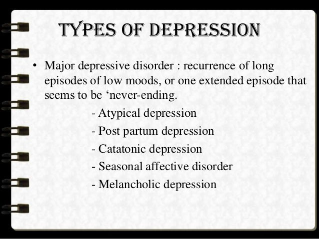an overview of types of depressive conditions Comorbidity of alcoholism and psychiatric disorders an relatively few clinical studies have tested these types 113 percent had major depressive.
