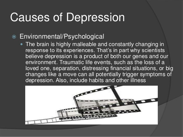 psychology term paper depression Psychology term papers (paper 3491) on clinical depression: treatments and  causes: generally, depression is regarded as an illness due to an imbalance of.
