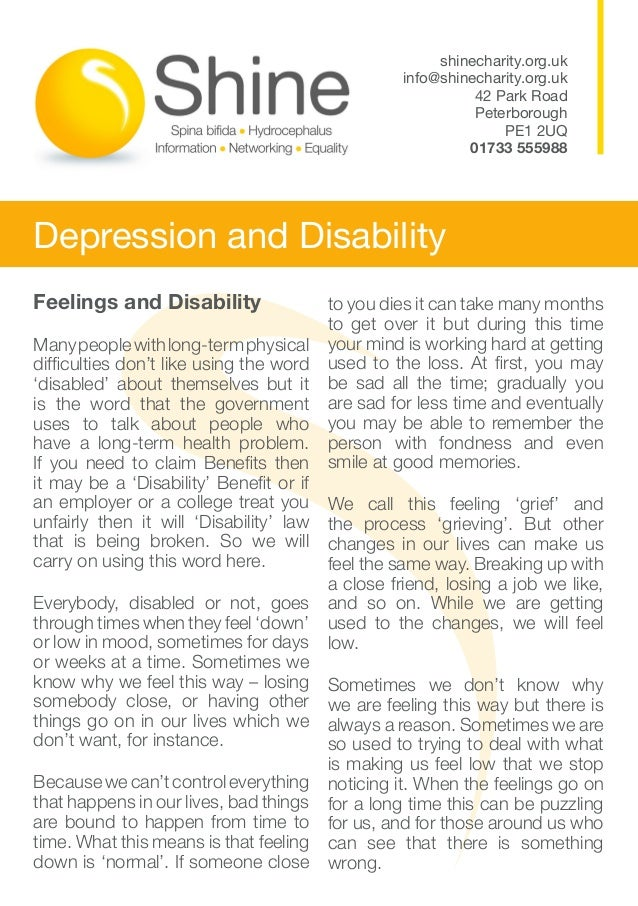 Feelings and Disability Manypeoplewithlong-termphysical difficulties don't like using the word 'disabled' about themselves...