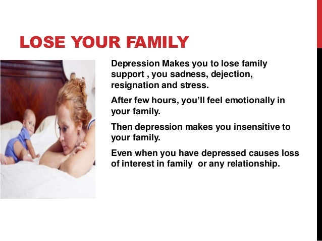 depression affects your marriage life5 lose your family depression