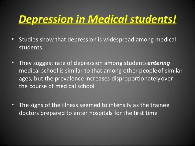 stress and depression among students A study on personality factors causing stress among school  the objective of gallery and whitley's study 1990 of occupational stress and depression among.