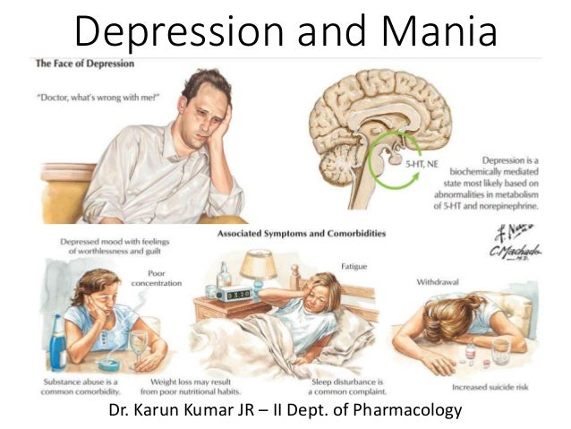 depression and maniadepression and mania dr karun kumar jr \u2013 ii dept of pharmacology