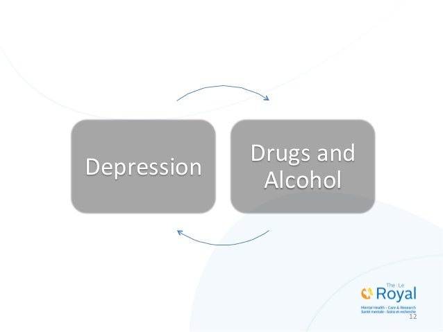 Depression   Drugs  and   Alcohol   12