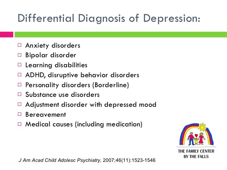 How doctors diagnose depression and anxiety