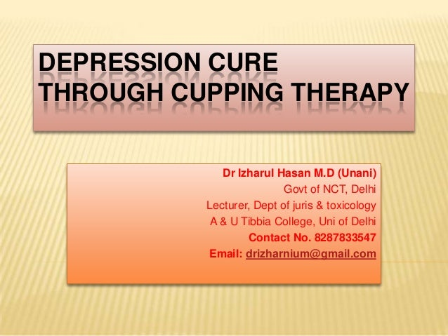 cupping for depression