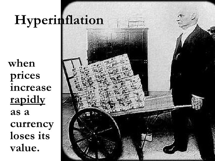 Depression & hyperinflation