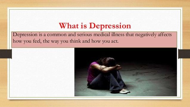 Depression : let's talk.