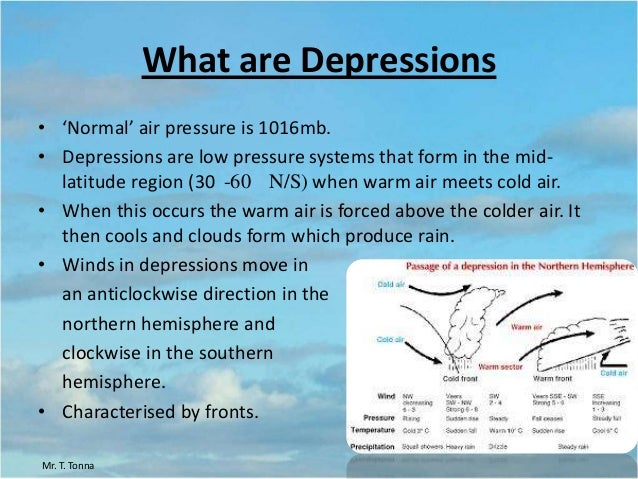 lesson 1 depressions and anticyclones4 what are depressions