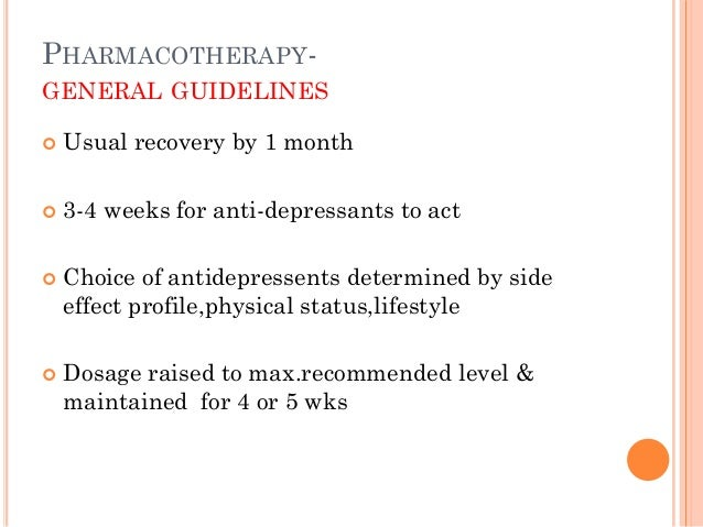 DURATION & PROPHYLAXIS  Atleast 6 months or length of previous episode  Prophylactic Rx - seriousness of previous episod...