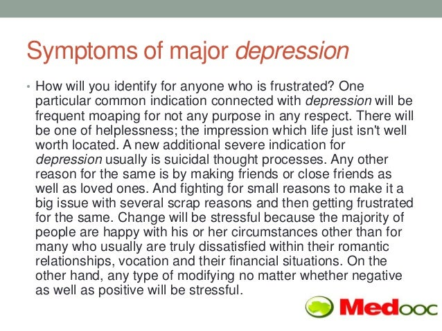 depression reasons symptoms and treatments Webmd provides an overview of depression types, their symptoms, diagnosis, and treatment.