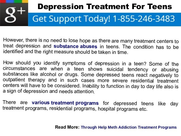 Depression Treatment For Teens
