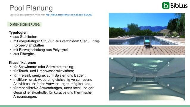 Pool Planung: Wie man einen Swimmingpool gestaltet, hier ein kompletter Leitfaden Slide 2