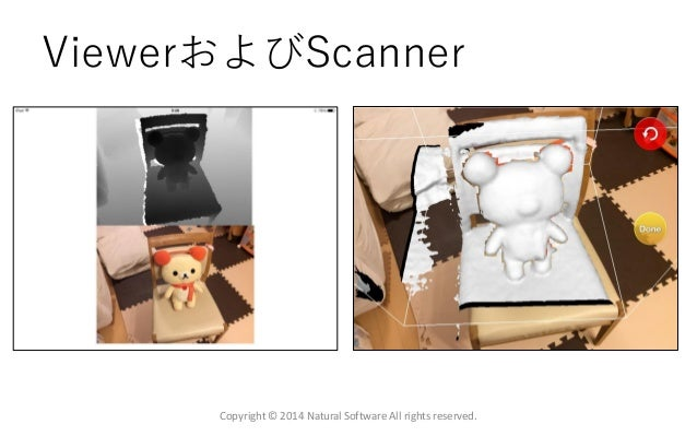 ViewerおよびScanner Copyright © 2014 Natural Software All rights reserved.