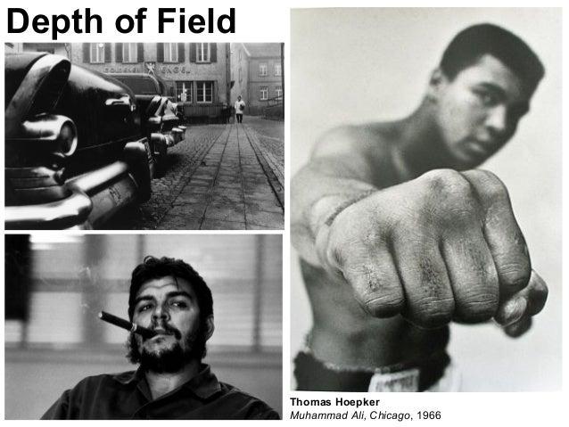 Depth of Field Thomas Hoepker Muhammad Ali, Chicago, 1966
