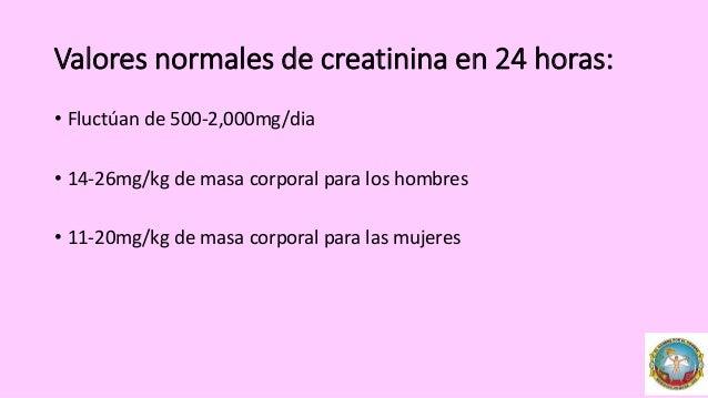 Depuracion de creatinina