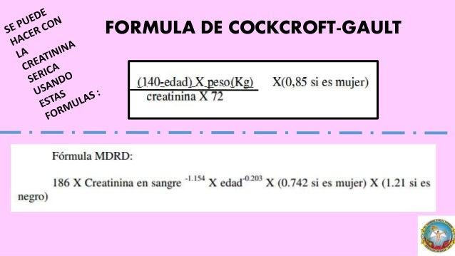 Creatinine Clearance Estimate by Cockcroft-Gault Equation