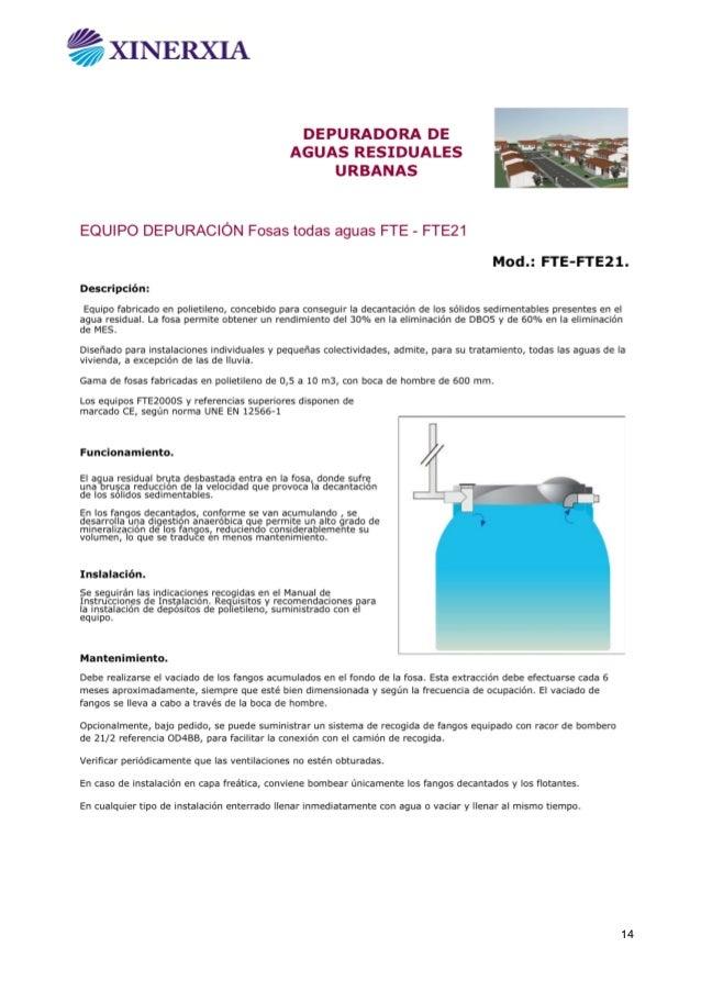 Depuradoras de aguas residuales for Depuradora aguas residuales