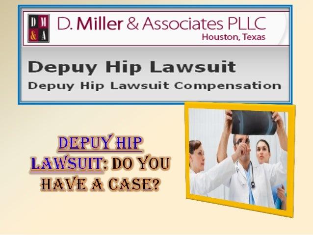 Depuy hip lawsuit
