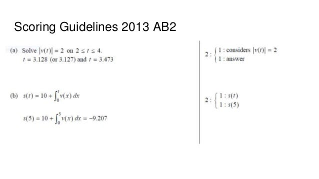 Deq and pva review sessions 2013 ab2 calc active 48 scoring guidelines 2013 ab2 sciox Gallery