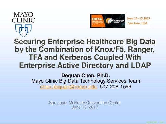 Securing Enterprise Healthcare Big Data by the Combination