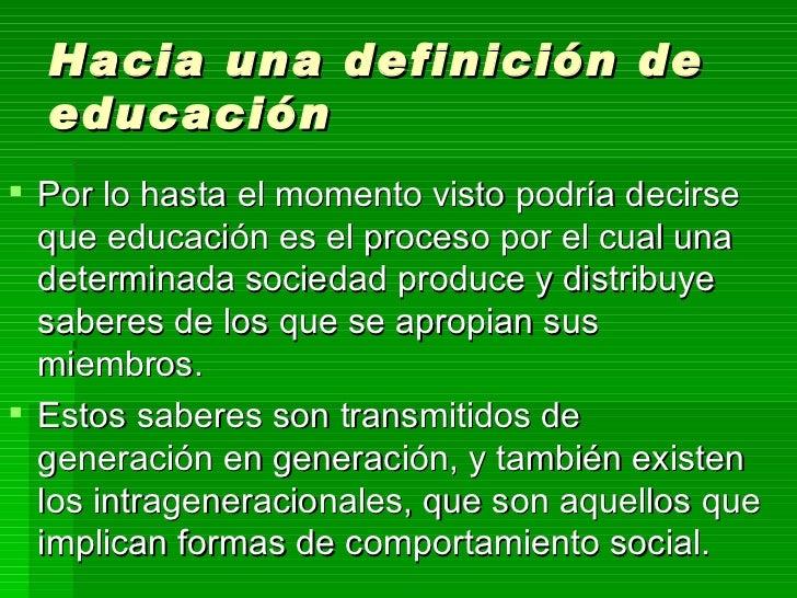 De qu hablamos cuando hablamos de educaci n for Educacion para poder