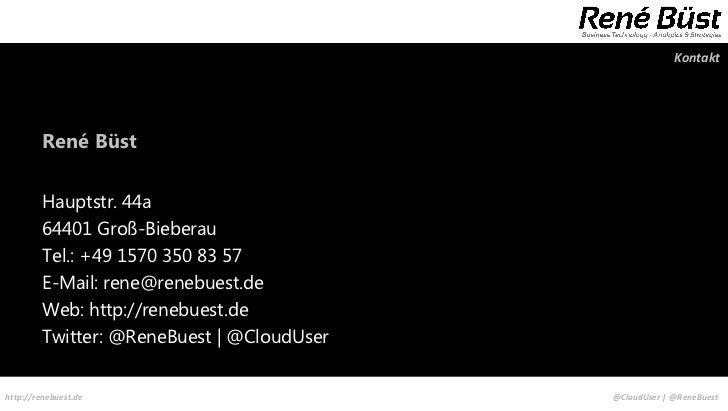 Kontakt         René Büst         Hauptstr. 44a         64401 Groß-Bieberau         Tel.: +49 1570 350 83 57         E-Mai...