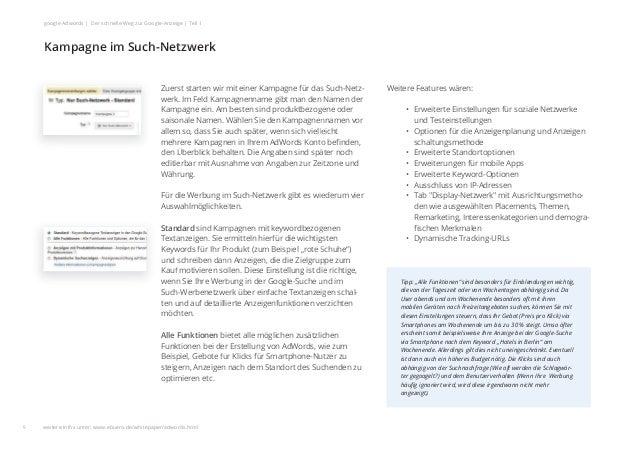 Weitere Features wären: • Erweiterte Einstellungen für soziale Netzwerke und Testeinstellungen • Optionen für die Anzeigen...