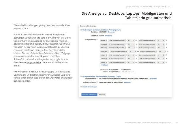 Die Anzeige auf Desktops, Laptops, Mobilgeräten und Tablets erfolgt automatisch 28 google Adwords | Der schnelle Weg zur G...