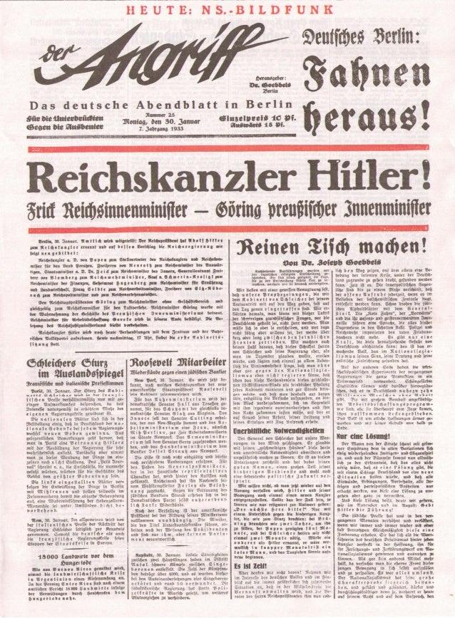 Der angriff   1933-01-30 - 7. Jahrgang nummer 25