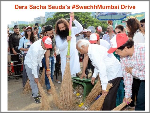 Dera Sacha Sauda's #SwachhMumbai Drive