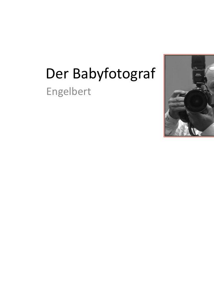 Der BabyfotografEngelbert